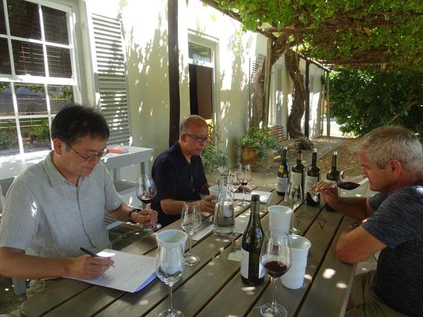 南アフリカワイン訪問記-シダバーグ訪問
