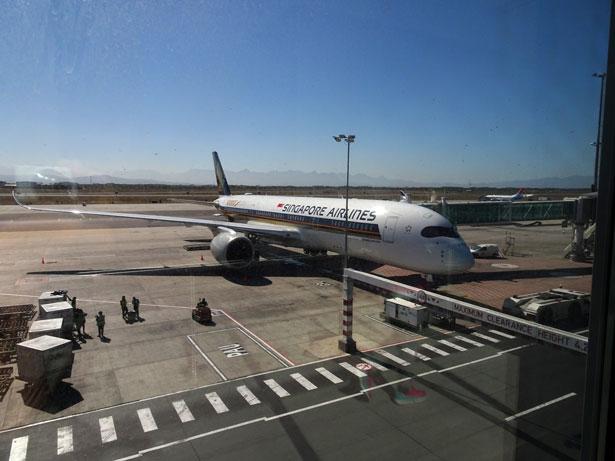 ケープタウン空港から羽田空港へ